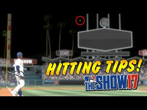 HOW TO HIT MORE HOMERUNS IN MLB The Show 17 Diamond Dynasty Tips