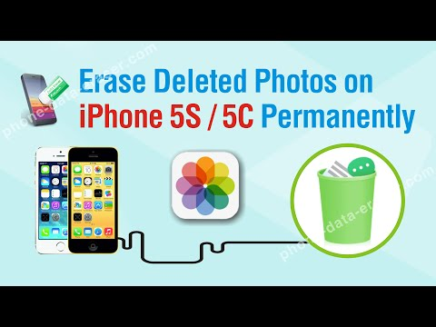 How to Erase Deleted Photos on iPhone 5S / 5C Permanently