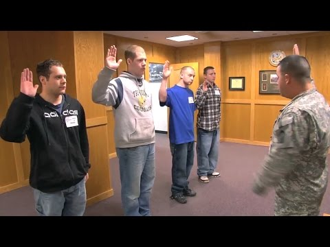 MEPS: Military Oath of Enlistment