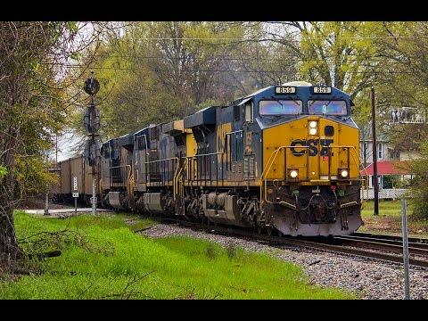 Railfanning Norfolk Southern and CSX in Columbia, SC 3-22-15
