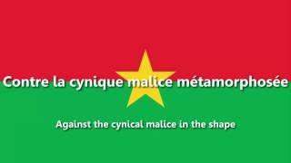 Burkina Faso - National Anthem - Une Seule Nuit/L
