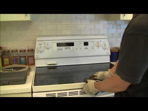 Replace dual heating element on Kitchenaid Superba YKERC507HW4 Range/Stove/Oven