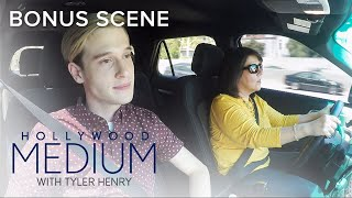 """Tyler Jokes His Mom """"Should Have Stayed in High School""""   Hollywood Medium with Tyler Henry   E!"""