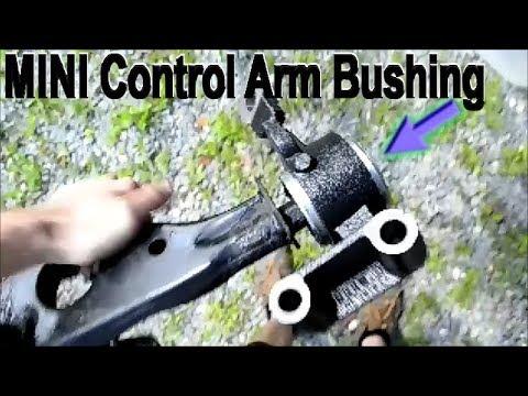 MINI Cooper Control Arm Bushing Replacement