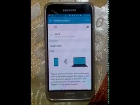 How to Setup WiFi Password on Samsung J3 / J5 / J7