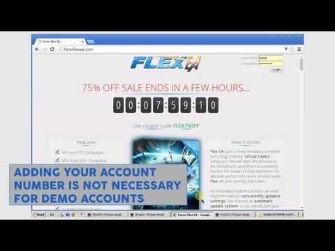 Forex Flex EA Installation Setup Guide