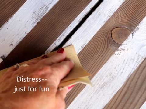 How To Make A Rustic Farmhouse Style Wood Flag