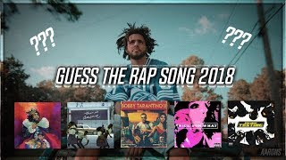 GUESS THE RAP SONG (2018 EDITION) PART 3