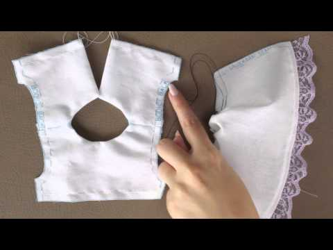 How to assemble a Pillowcase Doll: Part 2 - The Dress