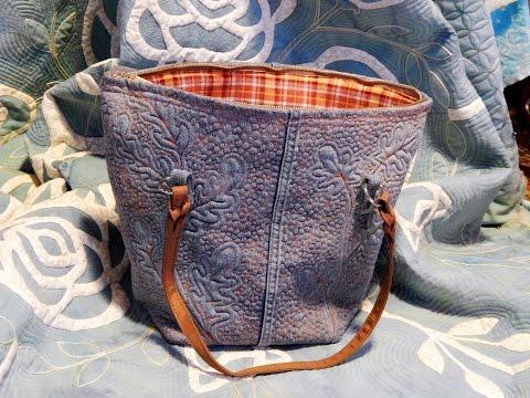 Quilted Denim Bag