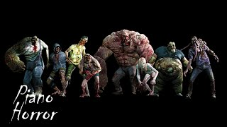 """""""Left 4 Dead"""" - All Special Infected Sounds (Piano)"""