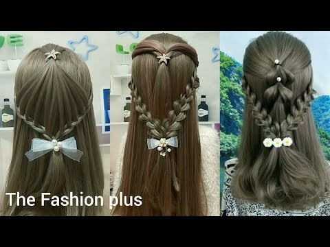 Simple and Easy Beautiful Hairstyles Tutorial