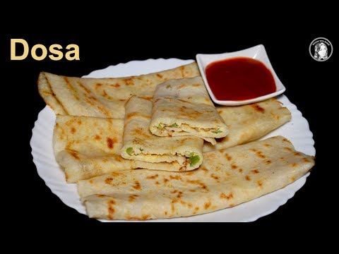 Tasty Egg Dosa Recipe with Dosa Batter - How to Make Soft and Spongy Dosa - Indian Breakfast Recipe