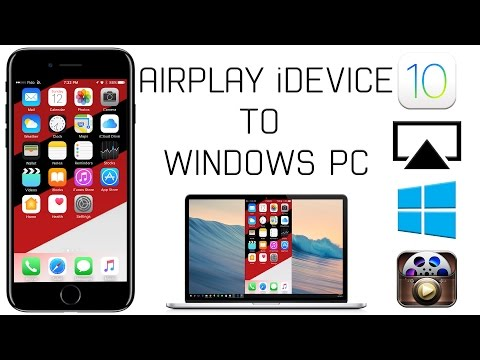 How to Airplay Your iOS 10 Device to ANY Windows 10 PC for FREE! (NO JAILBREAK)