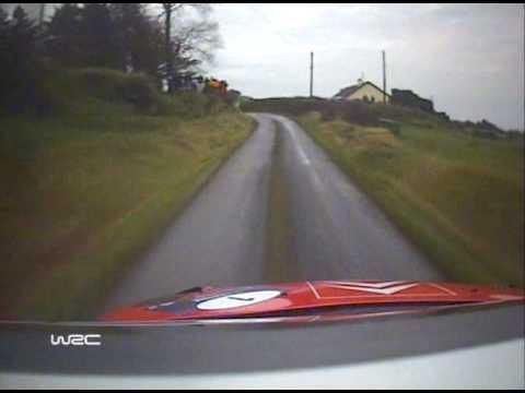 WRC Rally Ireland 2007 - Loeb C4 WRC.Full Stage On Board - Pure Magic!