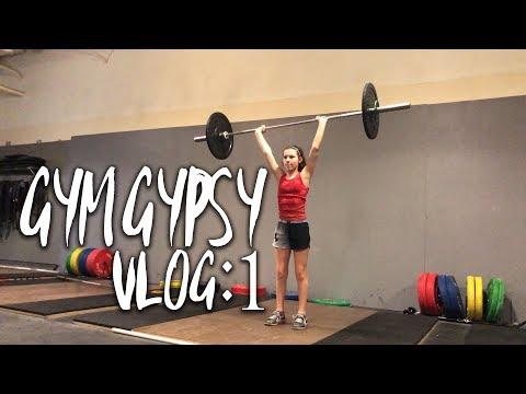 13 YR OLD GIRL WEIGHTLIFTING? | LEG DAY | GYM GYPSY VLOG: 1