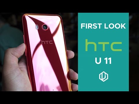 HTC U 11 - First Look and Impressions