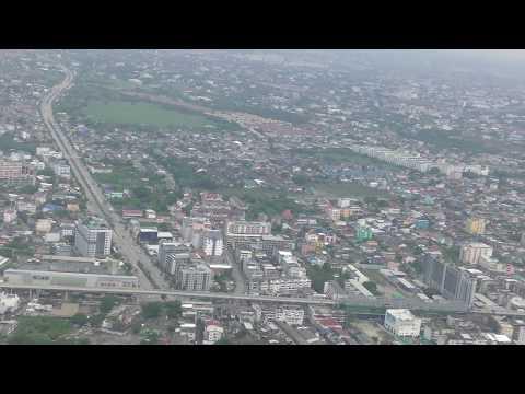 Air Asia Flight FD355 taking off from Bangkok's Don Muang airport