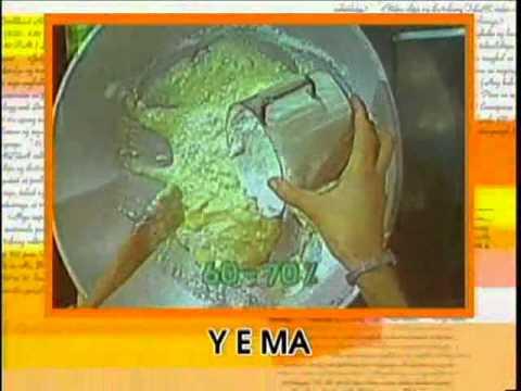 mga produkto mula sa gatas   paggawa ng yema