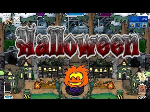 Halloween party! - Club Penguin Rewritten