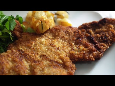 Butter Fried Veal Escalope