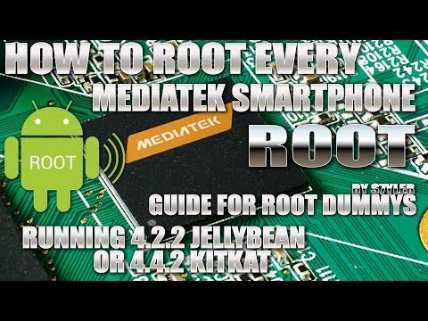 How to 1-CLICK-ROOT Mediatek 4.2 or 4.4 KitKat Smartphones and change iRoot to normal SuperSU