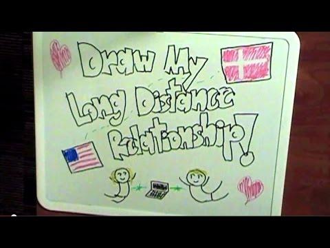 Draw My Long Distance Relationship (US/Denmark, met online)