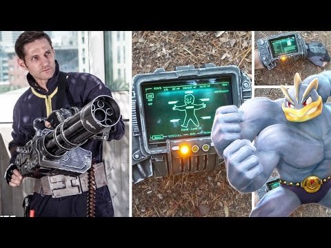 FALLOUT 4 PROPS & A POKEMON FIGHTING GAME?!?