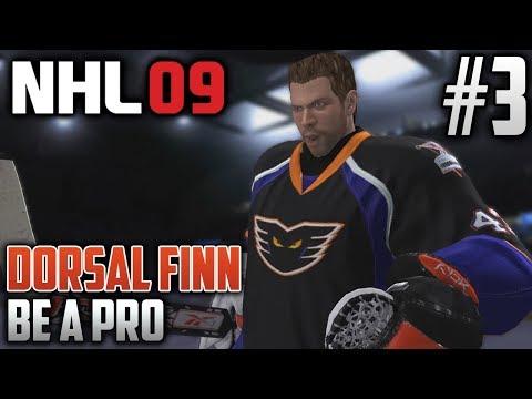 NHL 09 Retro Be a Pro | Dorsal Finn (Goalie) | EP3 | STAR OF THE GAME?