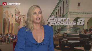 Interview Charlize Theron FAST & FURIOUS 8