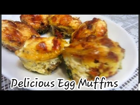 How To Make Bacon And Egg Muffins For Breakfast