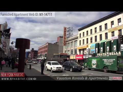 Harlem, New York - Video Tour of a 2-Bedroom Furnished Apartment Rental