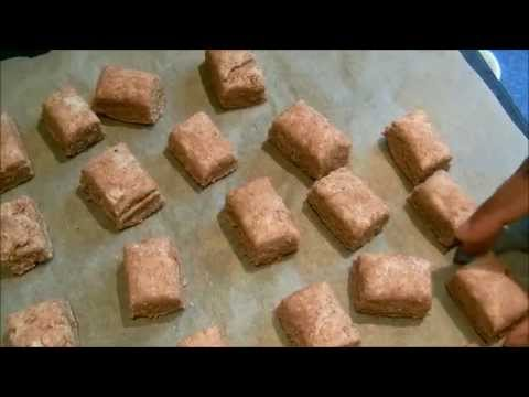 Simple Dog Biscuits - make your own dog treats