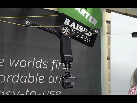 Wiral Light - Zip Line Cable Cam Rig First Look : CES 2018
