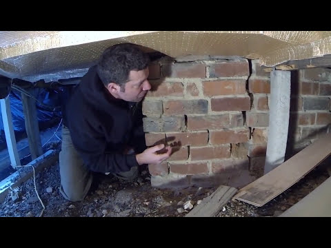 Removing an old existing chimney part 1