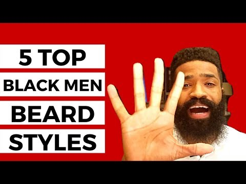 5 Top Black Men Beard Styles That Are Dope
