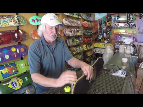 How To: Put Wheels On A Skateboard