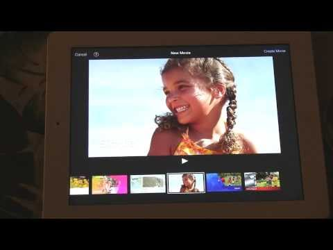 How to make slow motion video in iMovie on the iPad