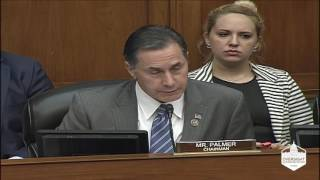Rep. Palmer Opening Statement:  Examining Environmental Barriers to Infrastructure Development