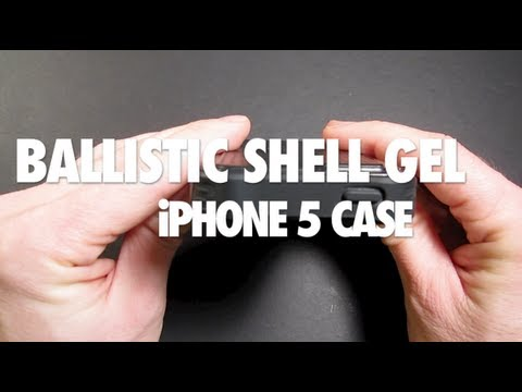 Review Ballistic Shell Gel case for iPhone 5