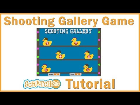 Make a Shooting Gallery Game in Scratch