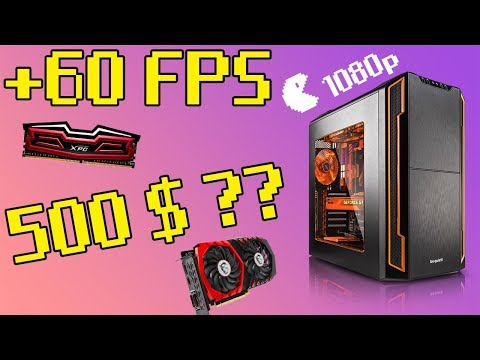 Best 500 dollar Gaming pc Build 2017 (Plays EVERY Game @1080p 60FPS)