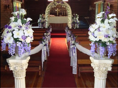 Cheap Wedding Aisle Decorations Ideas l Wedding Decorations On A Budget