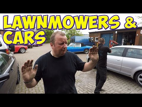 A Day In Our Life #30 Lawnmowers And Cars  Vlog