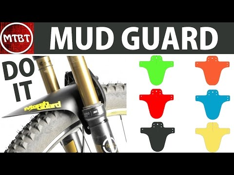 Making marsh guard mtb mud front fender mud guard tutorial do it at low cost template  parafango MTB