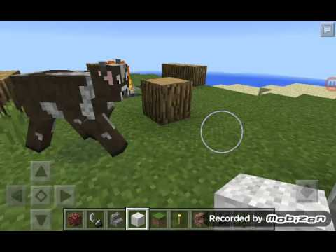 ✔Minecraft Pocket Edition: How to make a Campfire+Tent+Bed trick