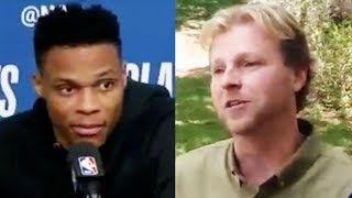 Russell Westbrook Slaps Jazz Fan After Game