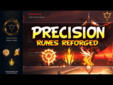 Precision Guide - NEW SEASON 8 RUNES   PRO TIPS & FOR BEGINNERS - League Of Legends Runes Reforged