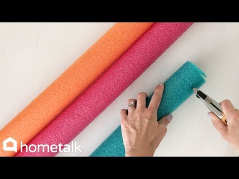 14 Clever Ideas to Make for Your Home With Dollar Store Pool Noodles