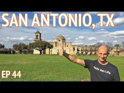 San Antonio Texas Travel VLOG   Living the Van Life in Texas